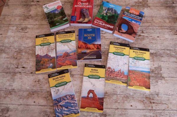 cartes et guides touristiques