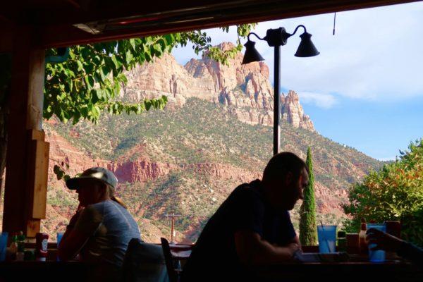 vue depuis la terrasse oscar's café