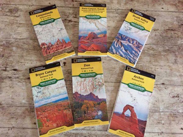 cartes parcs nationaux