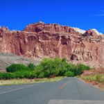 scenic drive capitol reef