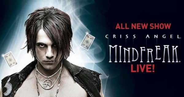 criss angel las vegas