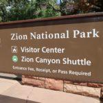 entrée piétonne Zion