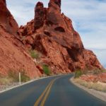 routes valley of fire highway et mouse's tank road