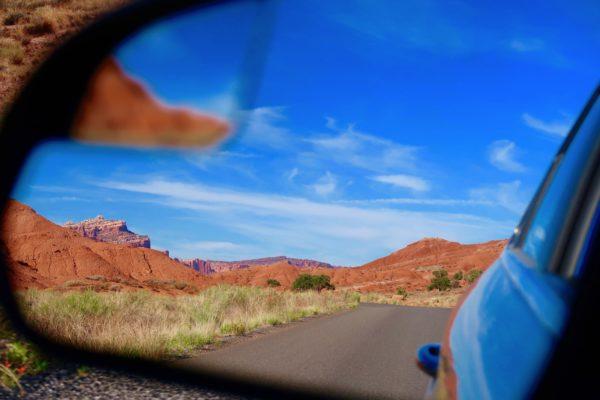 Capitol Reef scenic road