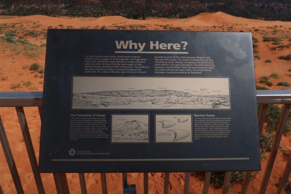 explication sur la formation des dunes