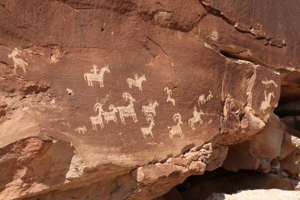 pétroglyphes Delicate Arch