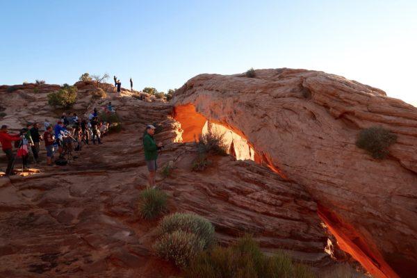 photographes à Mesa Arch