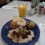 petti déjeuner parry lodge