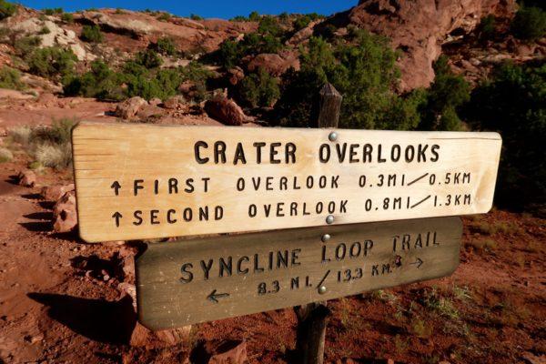 crater overlooks