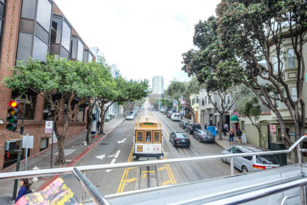 San Francisco en bus hop-on hop-off