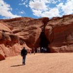 entrée Upper Antelope Canyon