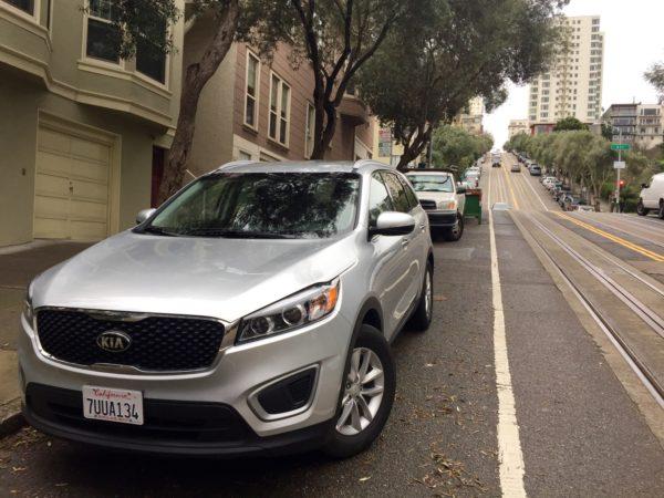 voiture à San Francisco