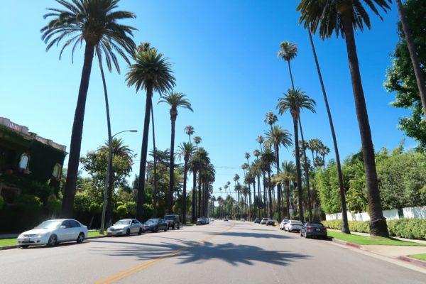rouler à Los Angeles