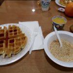 petit déjeuner Rodeway Inn