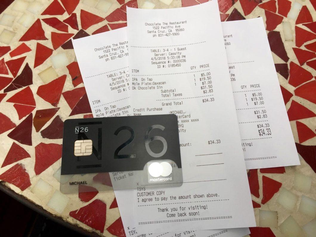 Carte Black Cmb.La Carte N26 La Solution Ideale Pour Vos Paiements A L Etranger
