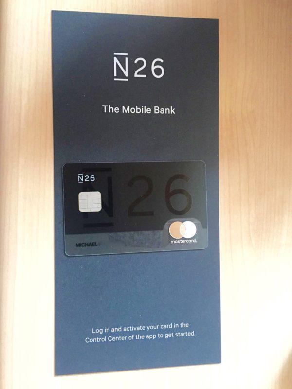 Carte N26