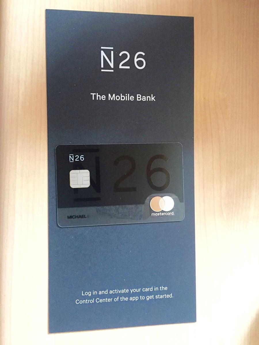 Carte Accord Retrait.La Carte N26 La Solution Ideale Pour Vos Paiements A L Etranger