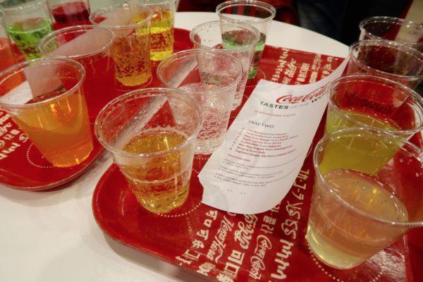 Dégustation Coca Cola