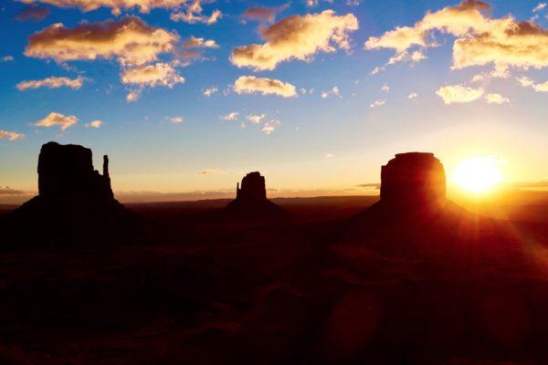 lever de soleil depuis le Lockout