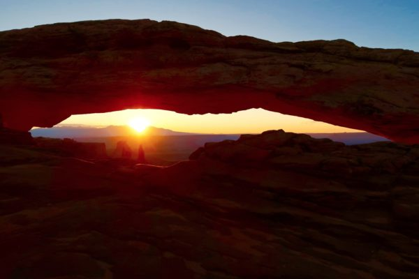 lever de soleil mesa arch