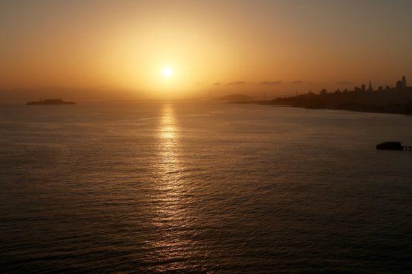 lever de soleil san francisco