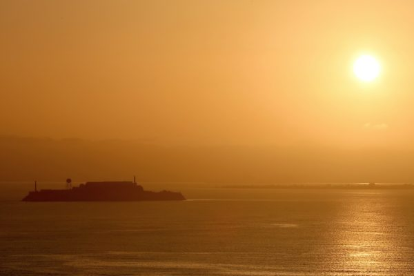 lever de soleil golden gate