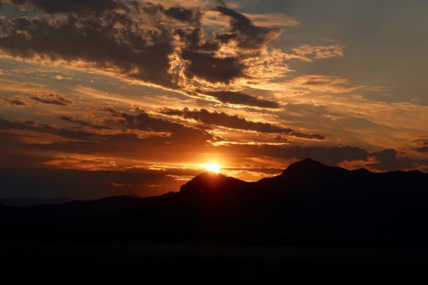 lever de soleil death valley