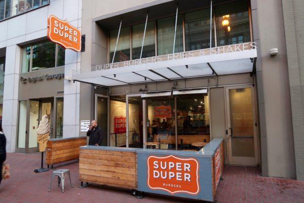 Super Duper Burgers Downtown