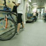 BART avec un vélo