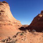 courir l'ultra trail d'Antelope Canyon