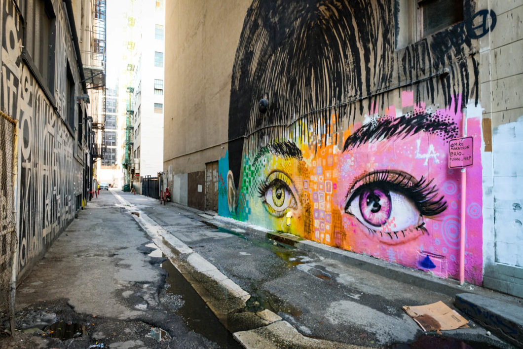 street art Downton LA