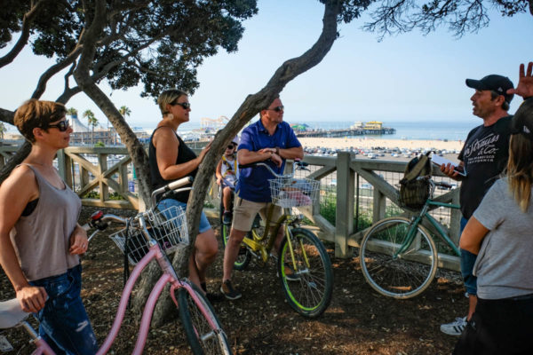 Visite guidée de Santa Monica et Venice Beach à vélo