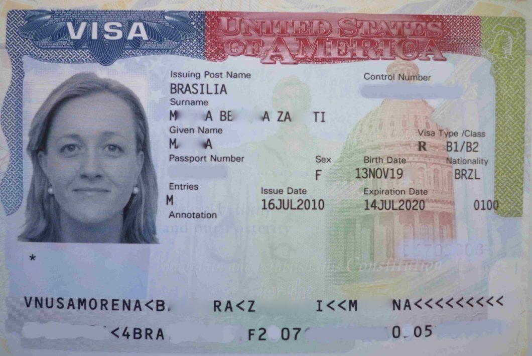 visa Etats-Unis