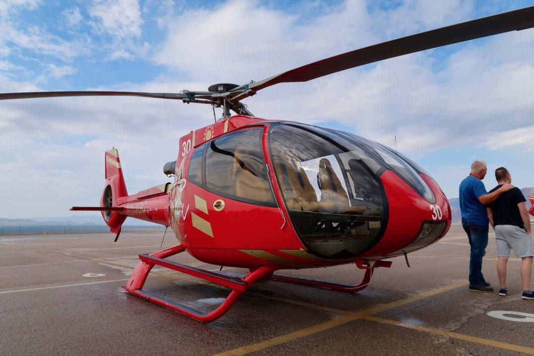 hélicoptère Las Vegas