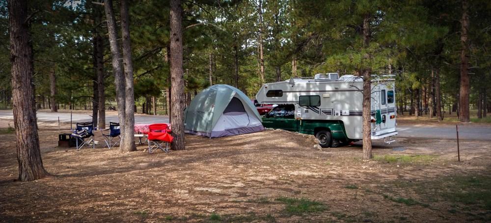 nuit en camping
