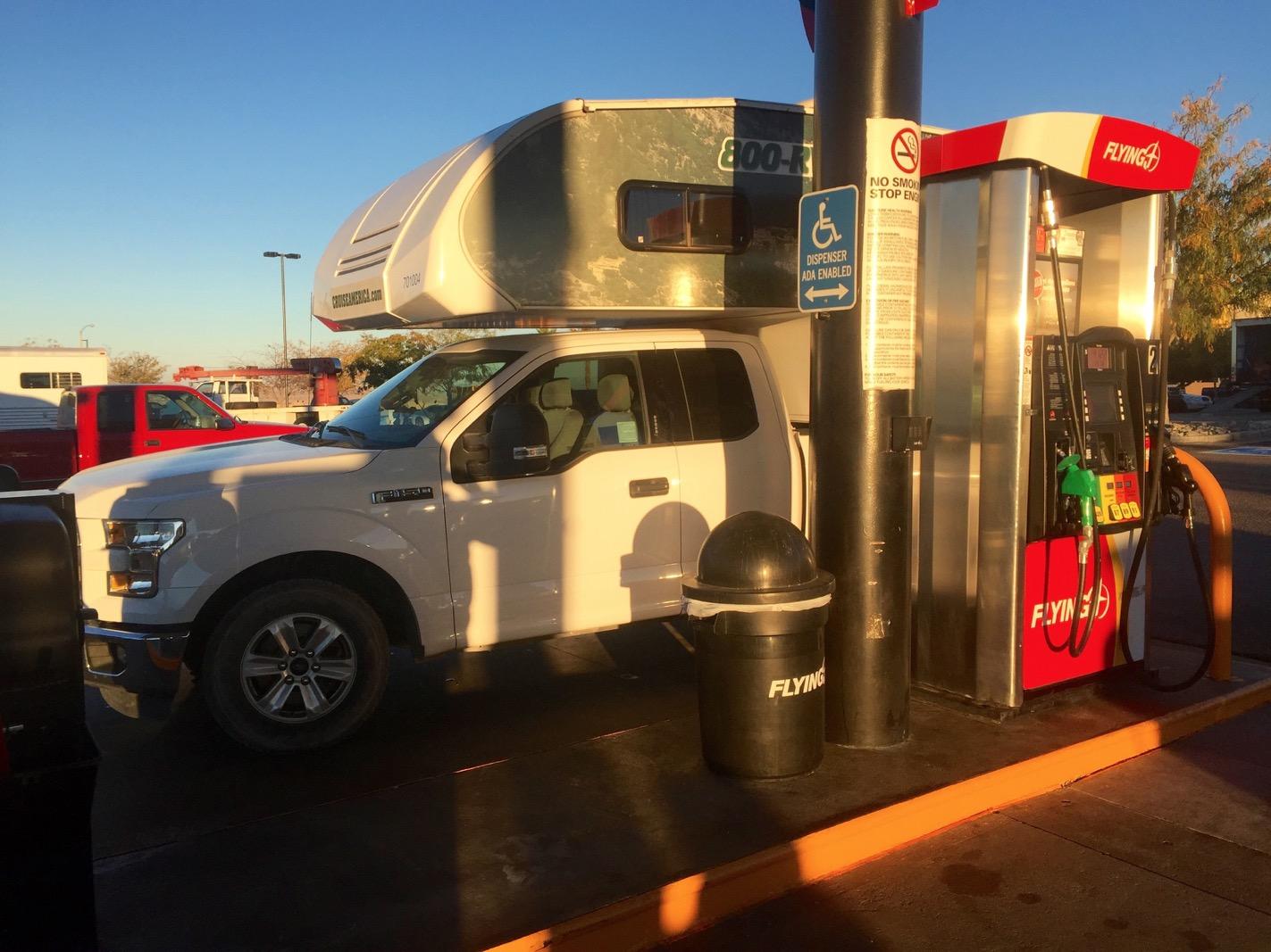 carburant camping-car