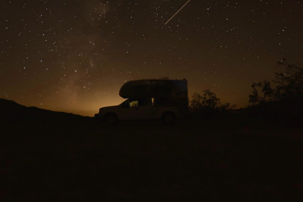 nuit en camping-car