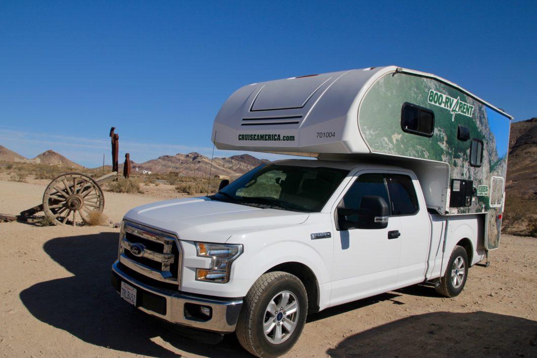 camping-car dans l'ouest américain