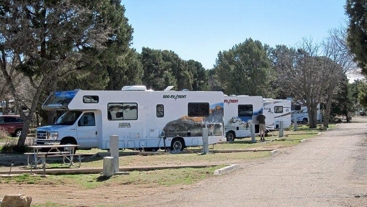 brancher votre camping-car