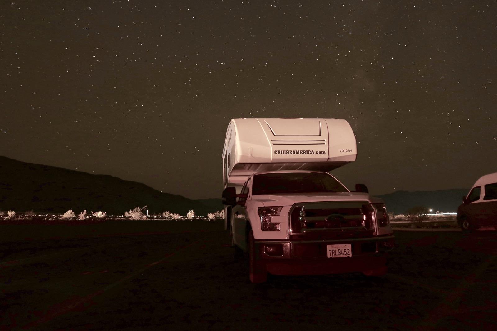 tarif de base camping-car