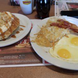 petit déjeuner Denny's