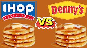 rivalité IHOP Denny's
