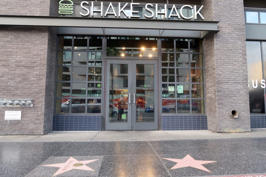 Shake Shack Hollywood Boulevard