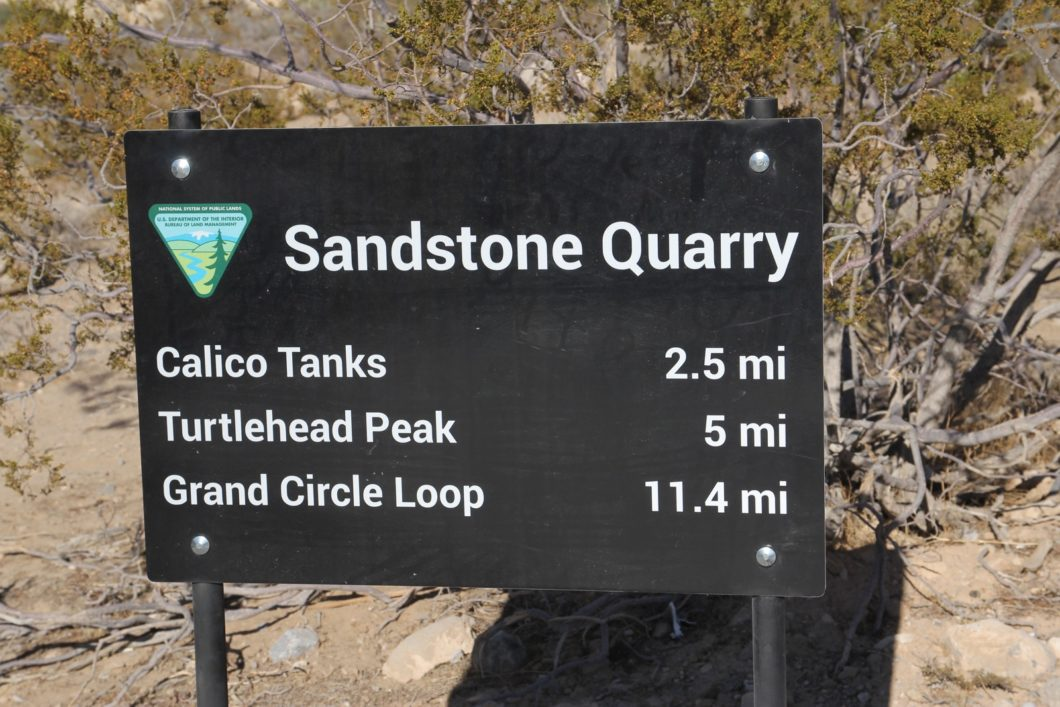 Calico Tanks Trail