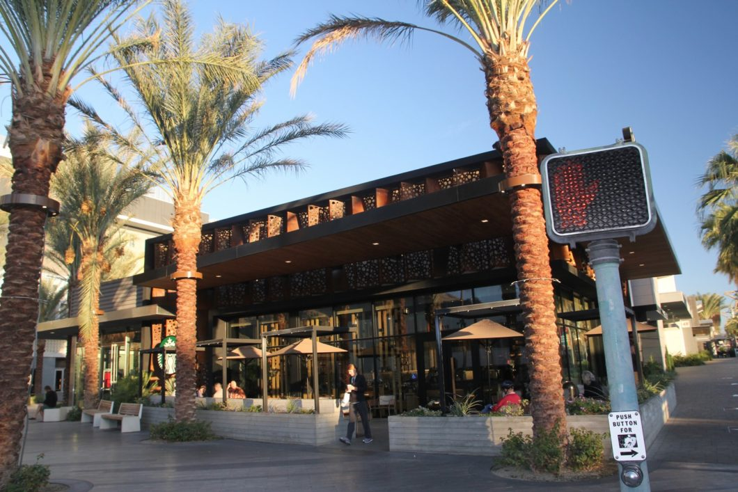 Starbucks reserve Palm Canyon drive