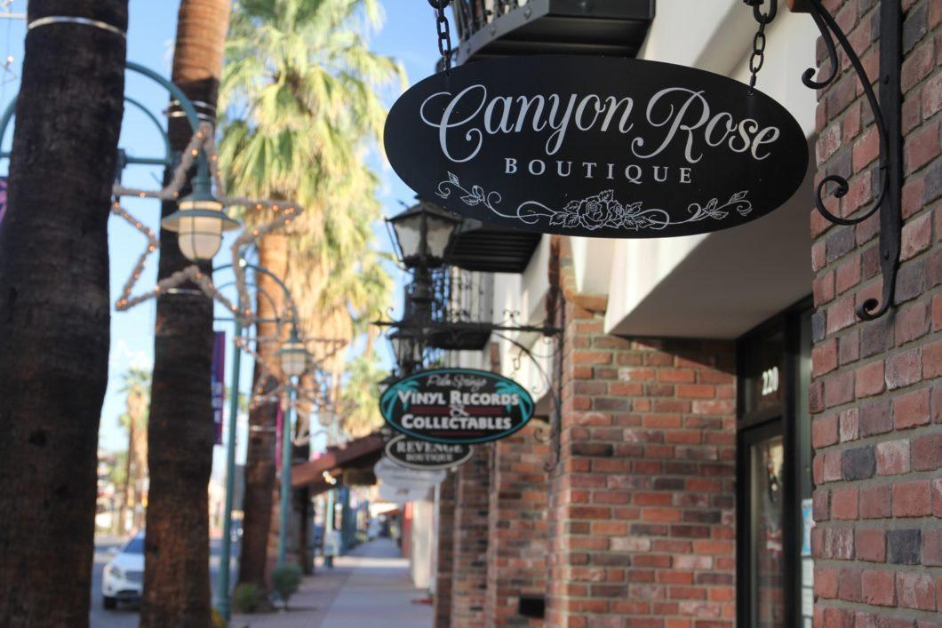 Palm Canyon Drive