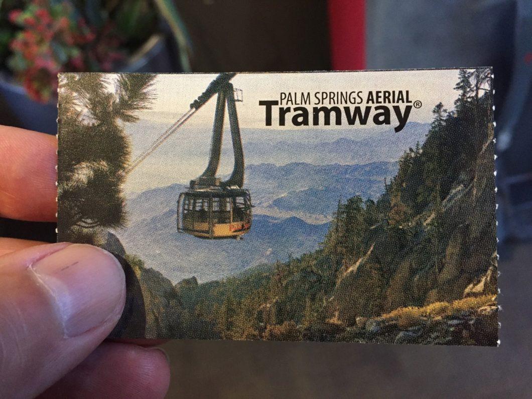 billet Palm Springs Aerial Tramway