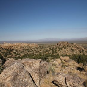 Teutonia Peak trail