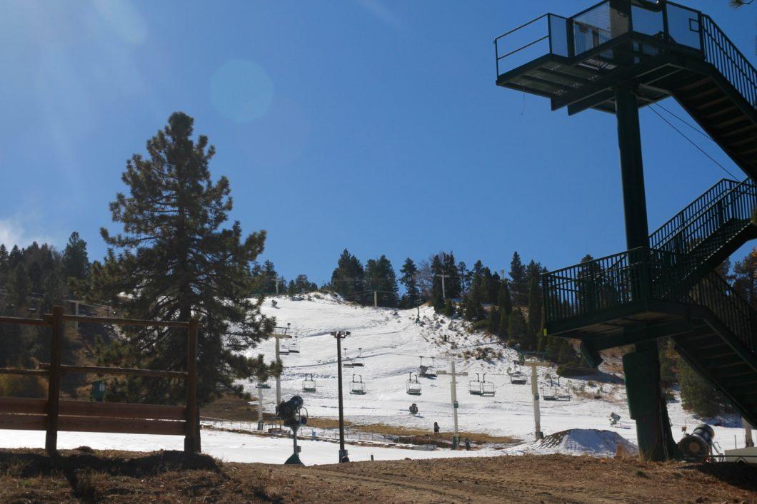 skier à Big Bear