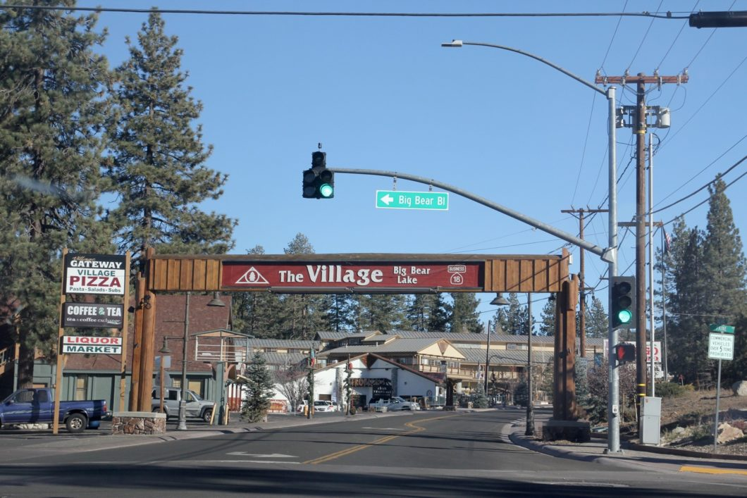 The village Big Bear